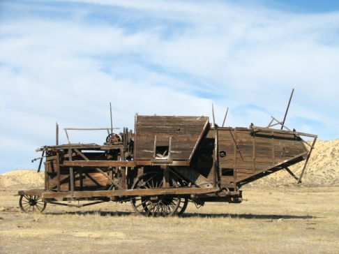 An ancient thresher(C.Almdale 12/10/11)