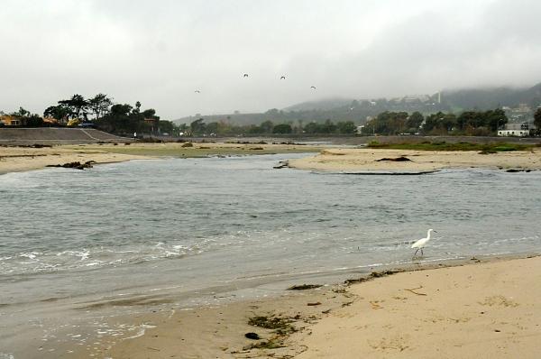 Rain causes Surfrider Beach to breach (J. Kenney 12/3/12)