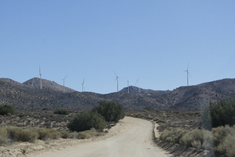Not the windmills of your mind - Jawbone Canyon (R. Seidner 11 3 12)