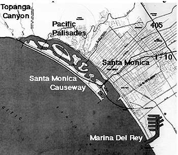 Map of the causeway (from the article).