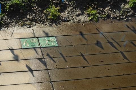 Tidal Clock elevation markers (J. Kenney 4/16/13)