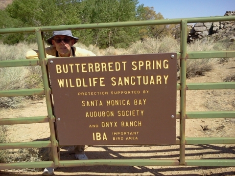 Butterbredt Spring gate (L. Johnson 4/26/13)