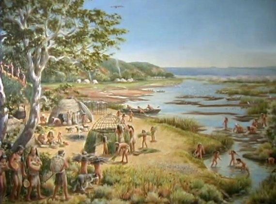 Tongva Village