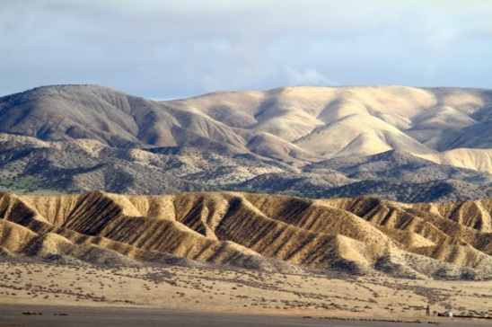 The Temblor Range (J. Waterman 12/20/14)