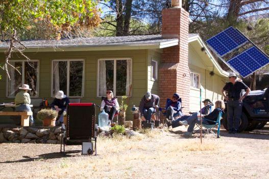 Front porch birding (R.Seidner 4/25/15)