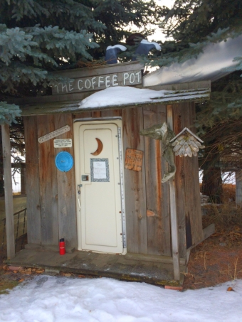 Full service outhouse (Diana Roberts, Wallowa Valley Jan'16)