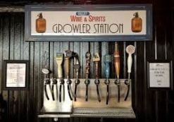Growler station you might find near a gas station (google images)