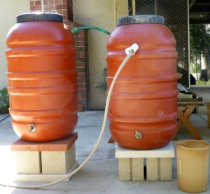 Rain barrel pair (C. Almdale 2-25-16)