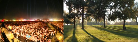 Woodley Park - Not the right place for a Coachella-style mega-fest