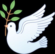 Peace dove with Olive Branch (Google)