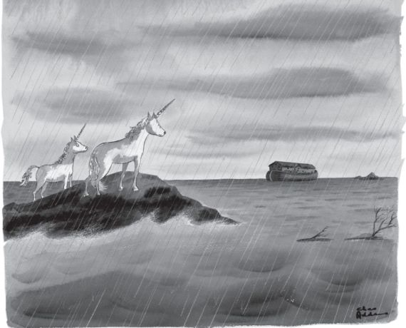 Cartoon by Charles Addams