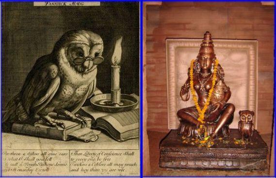 Fantastick Madg & Lakshmi with her owl (dd)