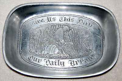 Pewter Tray Dish (Vintage Cantrell Collection)