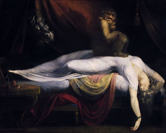 The Nightmare by John Henry Fuseli (at Detroit Museum of Art)