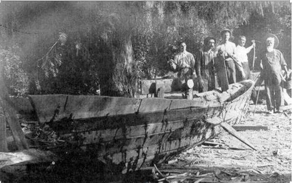 Chumash boat
